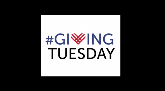 #GivingTuesday is Nov. 28