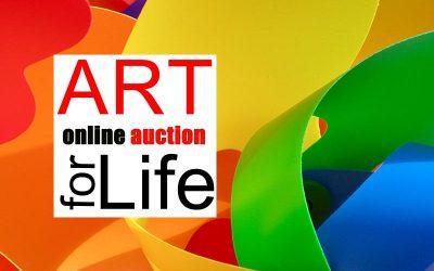 Art for Life Online Auction Success