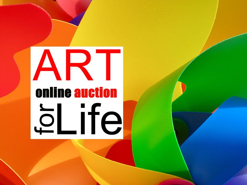 Art for Life Online Auction Success