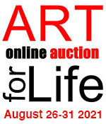 Art for Life Online Auction 2021 August 26-31